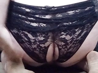 Tammy sheffield lingerie bowl Bowling pin anal in lace panties