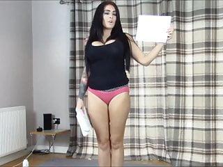 Girl in diaper spanked - Bra panties match strip wrestling w. diaper