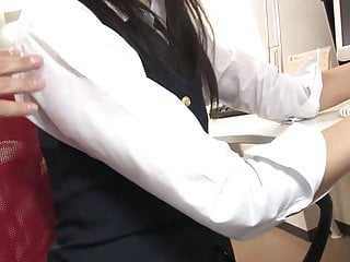 Threesome toy video Hot secretary gets pounded by two collegues at work