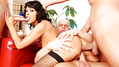 Team Fucks Girl - Tera Joy DP Gangbang