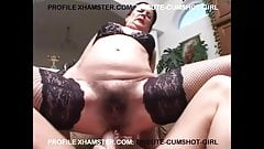 MATURE HAIRY ANAL AND PISS.