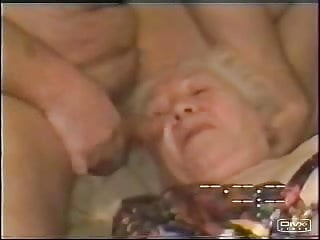 Very old on young gay Cumming in mouth to a very old stupid granny