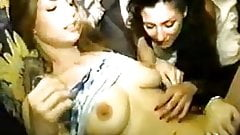 Naughty Lesbian Slumber Party