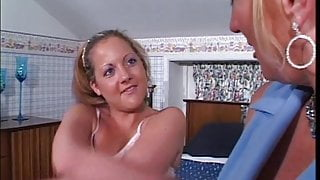Big tit milf enjoys tight pussy