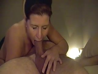 Cock swallowing milfs - Milf swallows- mouthfucking