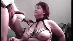 Mature bbw cum swallow