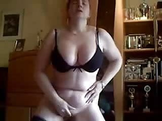 Amateur home made porno videos - My gorgeous wife masturbates standing. amateur home made