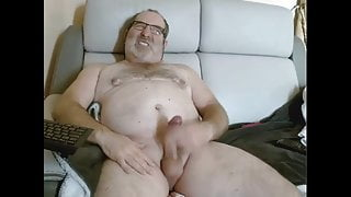 dADDY WITH DILDO IN ASS