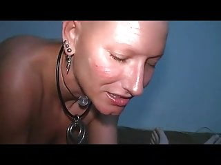 Fetish transformation bald head girls dvd Masturbates with a bald head