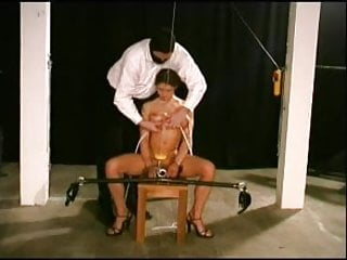 Heavy electric tits and cunt torture - Breast cunt torture