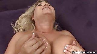 Busty and horny Rachel Love wants a cock !