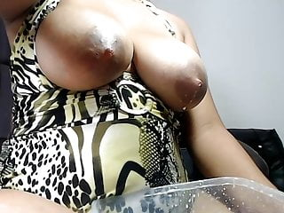 Woman sex milk - Beautiful woman milking her tits