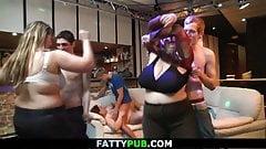 He bangs massive tits plumper at bbw party