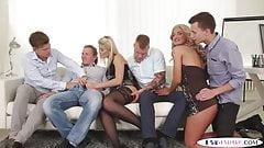Orgia Bisex. Scopate, inculate e sborrate tra maschi e femmi