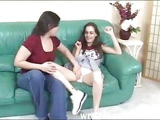 Upskirts cheerleaders - Cheerleader gets her panties licked by her squadmate