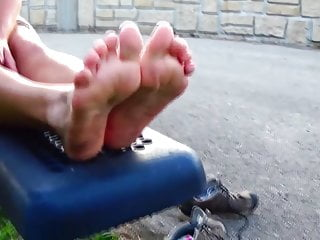 Xxx dirty runners videos Sweaty runner feet