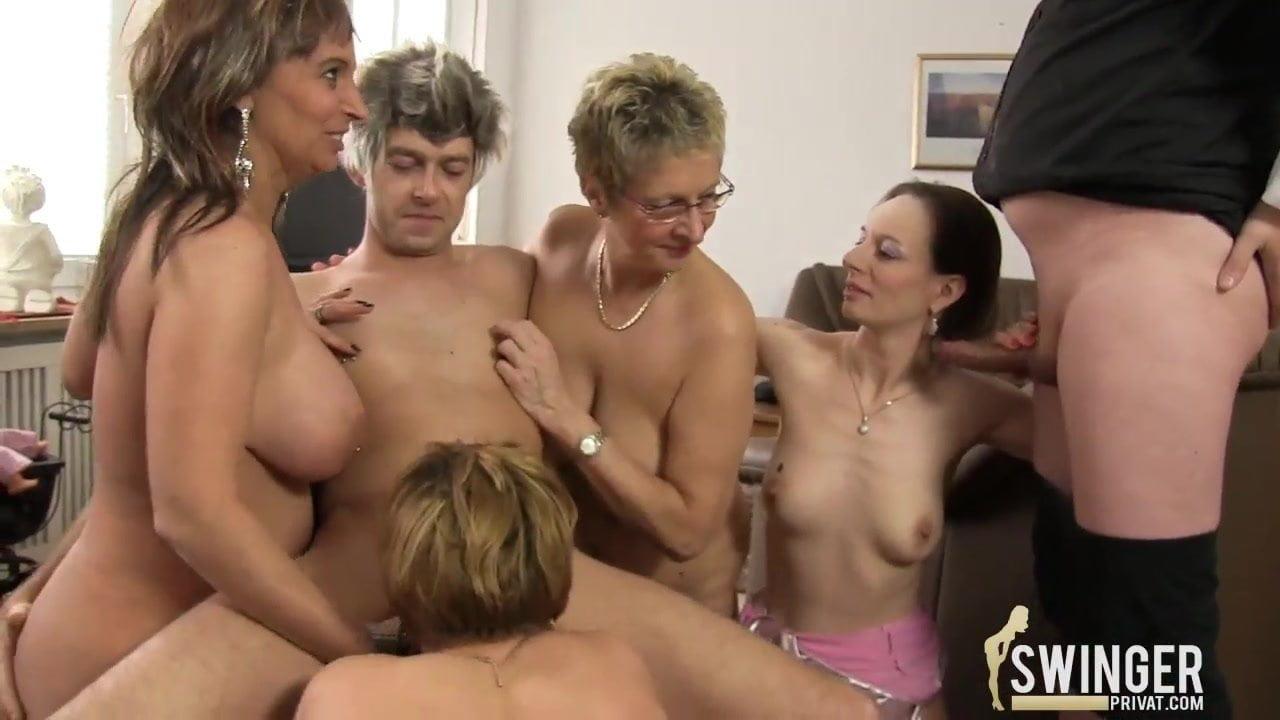 reife amateur orgie