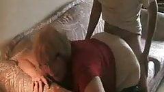 Old mum fucked by her boyfriend