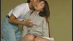 An Asian porn actor fucked an Asian woman