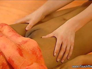 Asian massage new yorl Brunette babes try new massage