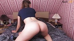 Hot Student Passionate Play Pussy Sex Toy after College