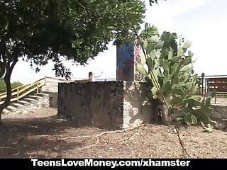 Hot latina gets fucked - Teenslovemoney - hot latina gets fucked outdoors