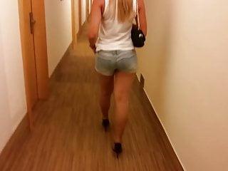 Sexy austrian - Sexy walk in hotel ii