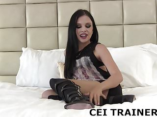 Eating my own cum tubesite - Eat your own cum off my boots cei