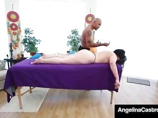 Gay rooster working at cnn - Angelina castro. black rooster rais samara massage