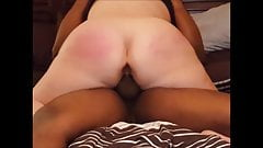 Slut wife with her BBC lover close ups