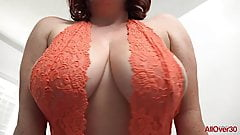 Maggie G Big Natural MILF Tits on AllOver30