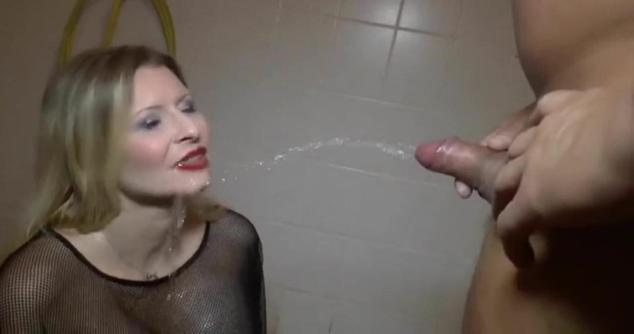 German Women Drinking Piss