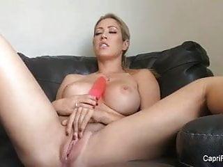 Free jordan capri sex pic - Naked capri gets off with her big red dildo