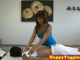 Masseuse asian Busty asian masseuse wanking and cocksucking