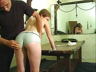 Erotic woman images - Cute woman taking an erotic ass whipping