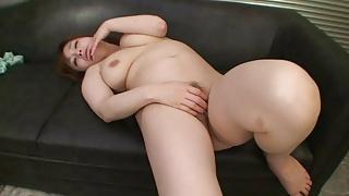 Petite Curvy Japanese Cougar Loves Riding Cock – POV