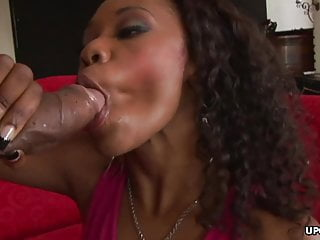 Sexy vivica a fox Black honey, vivica coxxx is eagerly sucking a thick cock