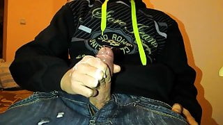 Str8 guy jeans cum