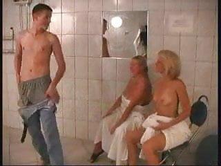 Amateur sex video site tube - Fucked in sauna - amateur sex video