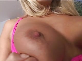 Sexy blond big tits Sexy blond whore sucks cock