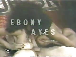 Big black boobs fucking Ebony ayes big black boobs interracial threesome