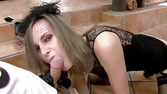 Madame The Whore in sexy Lingerie (French amateur)