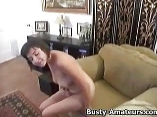 Milf busty vanessa Busty vanessa jerks her pussy on the couch