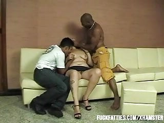 A private party gay dvd Latina having private party with two hunks