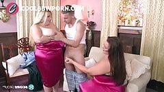 bbw threesome milf