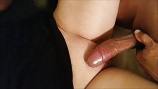 Wife has a Quickie with Her Young FWB and his Monster Cock
