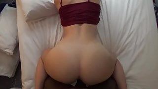 Busty Redhead Submits To The BBC
