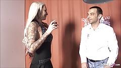 Big Tits Teen Mila Elaine Seduce Stranger to Fuck German