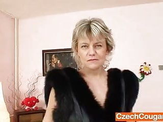 Good looking mature men - Good looking domina wife performs strange masturbation