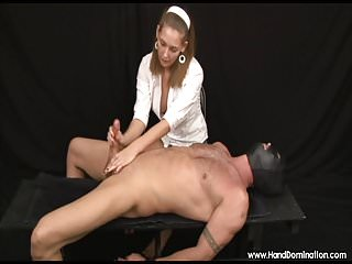Sadistic self bondage videos Sadistic mute destroys cock in bondage handjob